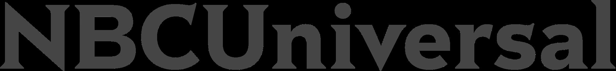 NBCU Logo Grey